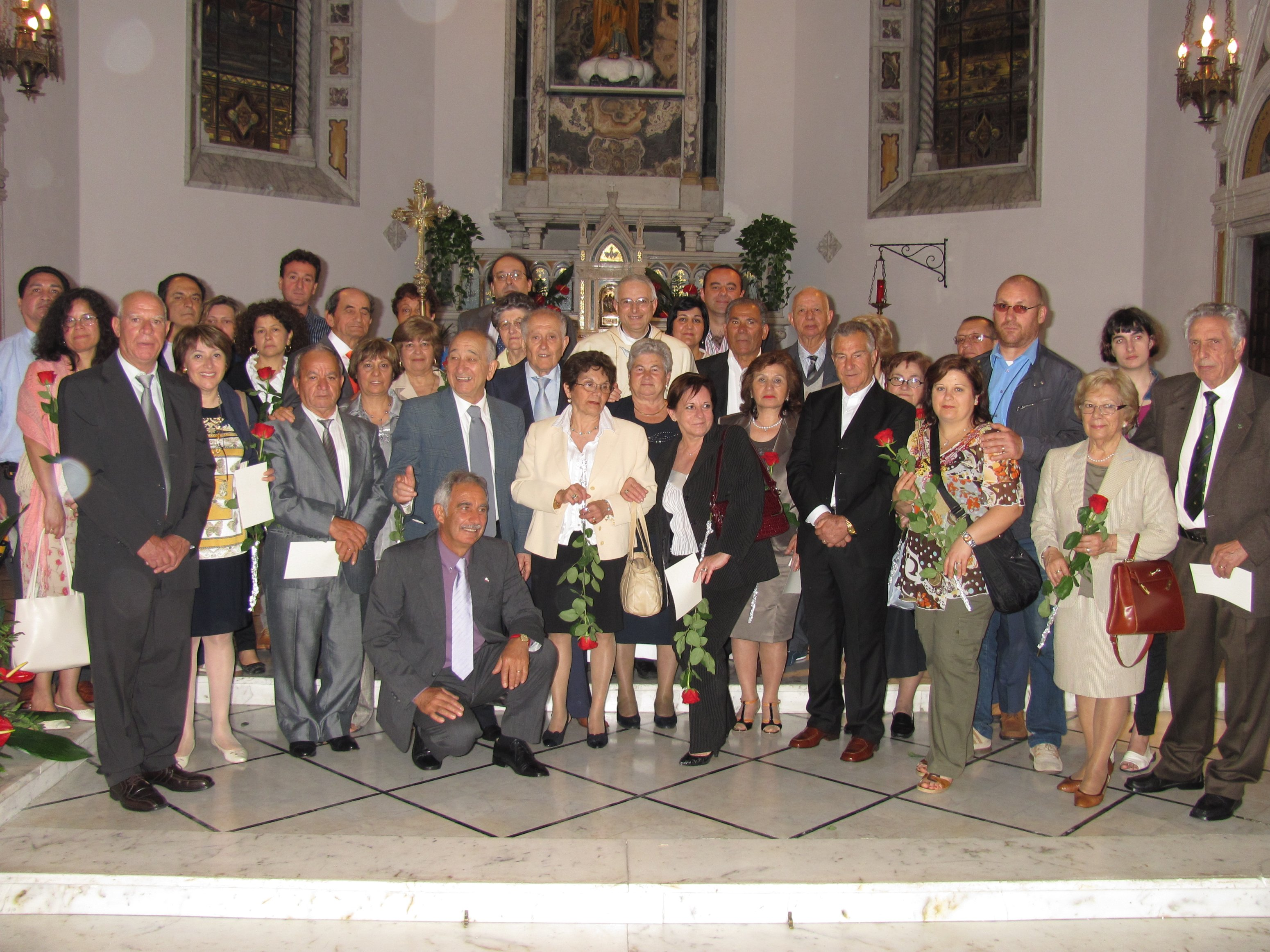 Festa Di Anniversario Di Matrimonio.Anniversari Di Matrimonio Parrocchia San Giuseppe Al Lagaccio