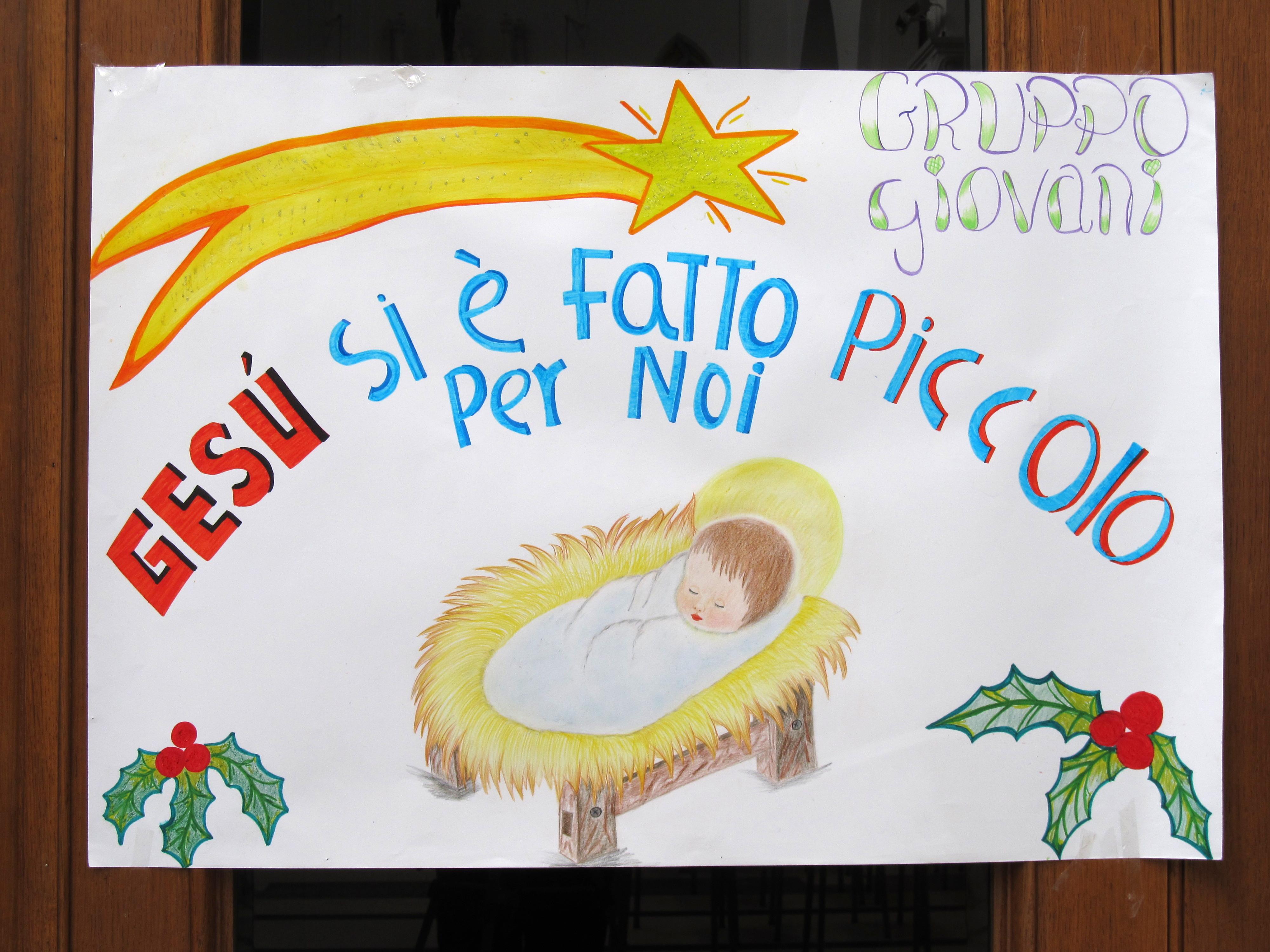 Molto Il cartellone di Natale : Parrocchia San Giuseppe al Lagaccio XC25