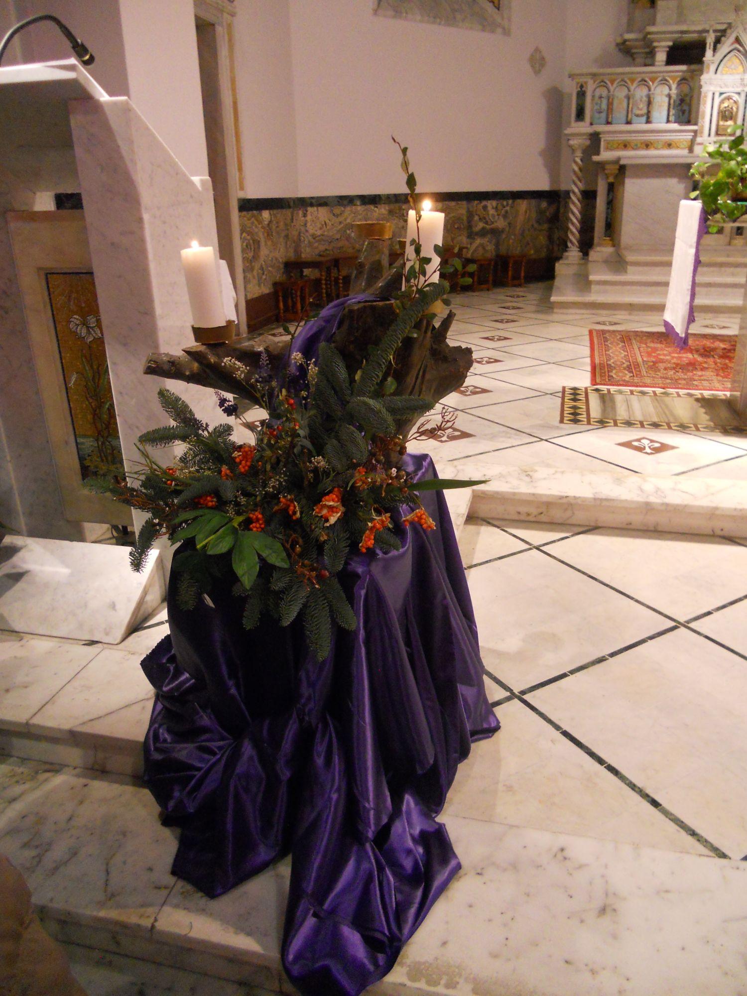 Come preparare corona dell'Avvento rito ambrosiano