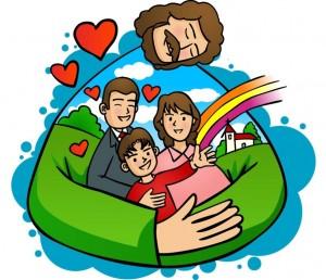 Gesù e famiglia