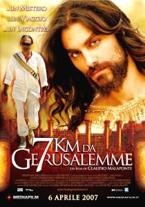 locandina film 7 km da Gerusalemme